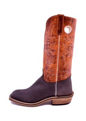 Olathe Boot Co. Olathe Boot Co Grey Slanted Buffalo Boot