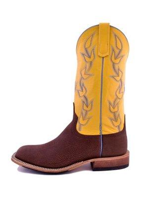 Anderson Bean Boot Company Anderson Bean   Brown Slanted Buffalo Boot