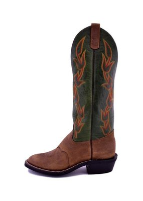 Olathe Boot Co. Olathe Boot Co Brown Oiled Pig DayHand Boot