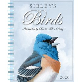 2020 Sibley Birds Engagement Calendar