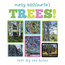 Molly Hashimoto Trees! Board Book