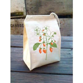 Eco Lunch Bag - Strawberries
