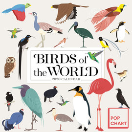 2020 Popchart Birds of the World Calendar