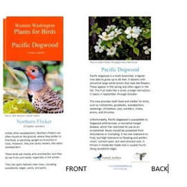 Western WA Plants for Birds Flip Card