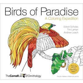 Birds of Paradise Coloring Book