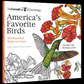 America's Favorite Birds Coloring Book