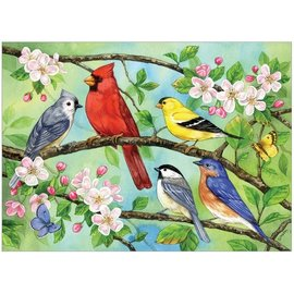 Bloomin Birds, 350 Pc Puzzle