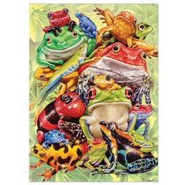 Frog Pile, 300 Pc Puzzle