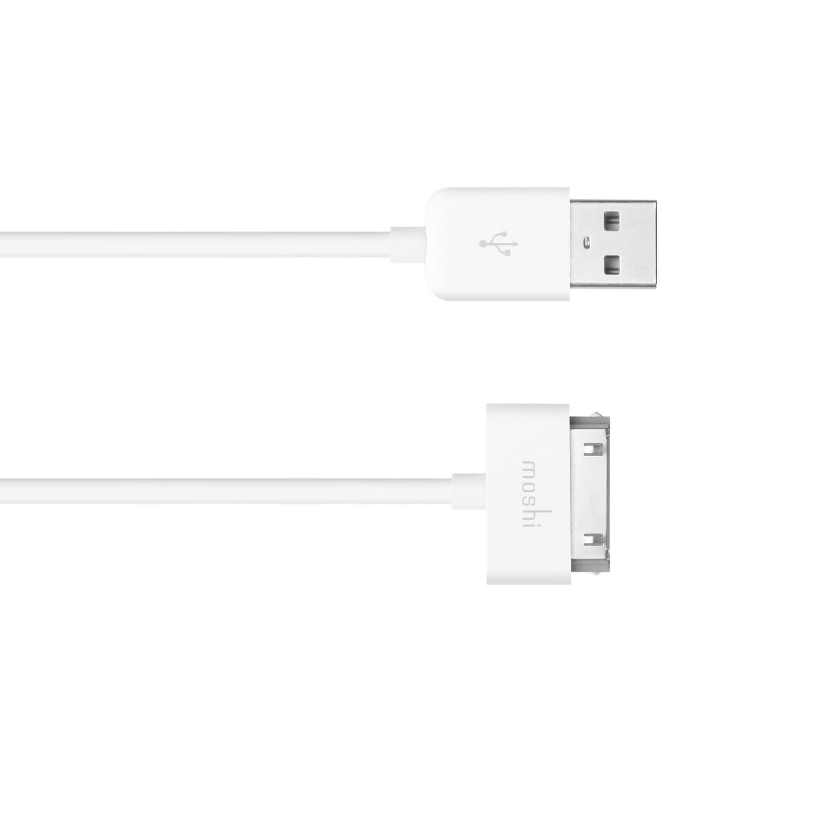Moshi USB Cable to 30 Pin Connector White