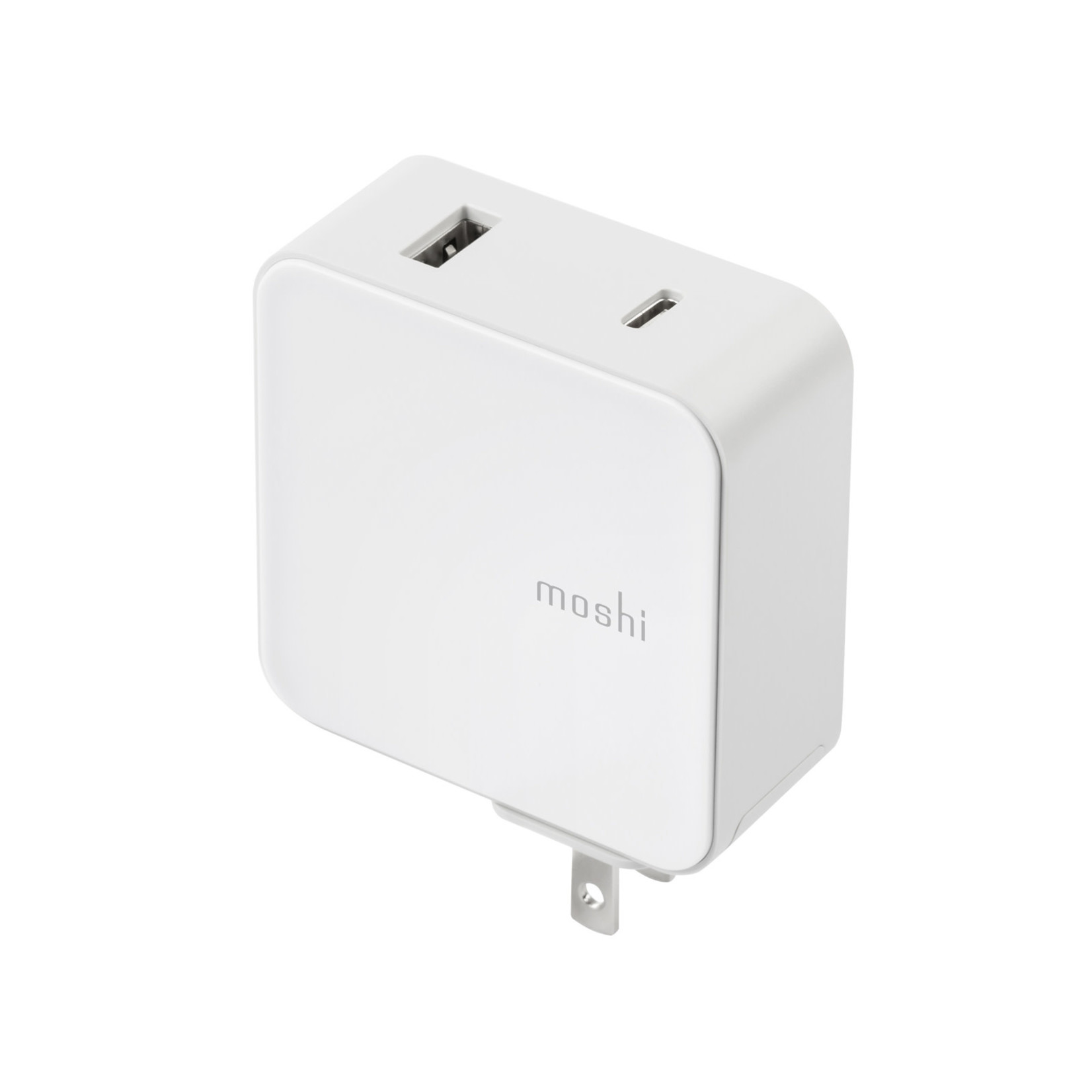 Moshi ProGeo USB-C Wall Charger with USB Port (42 W) US