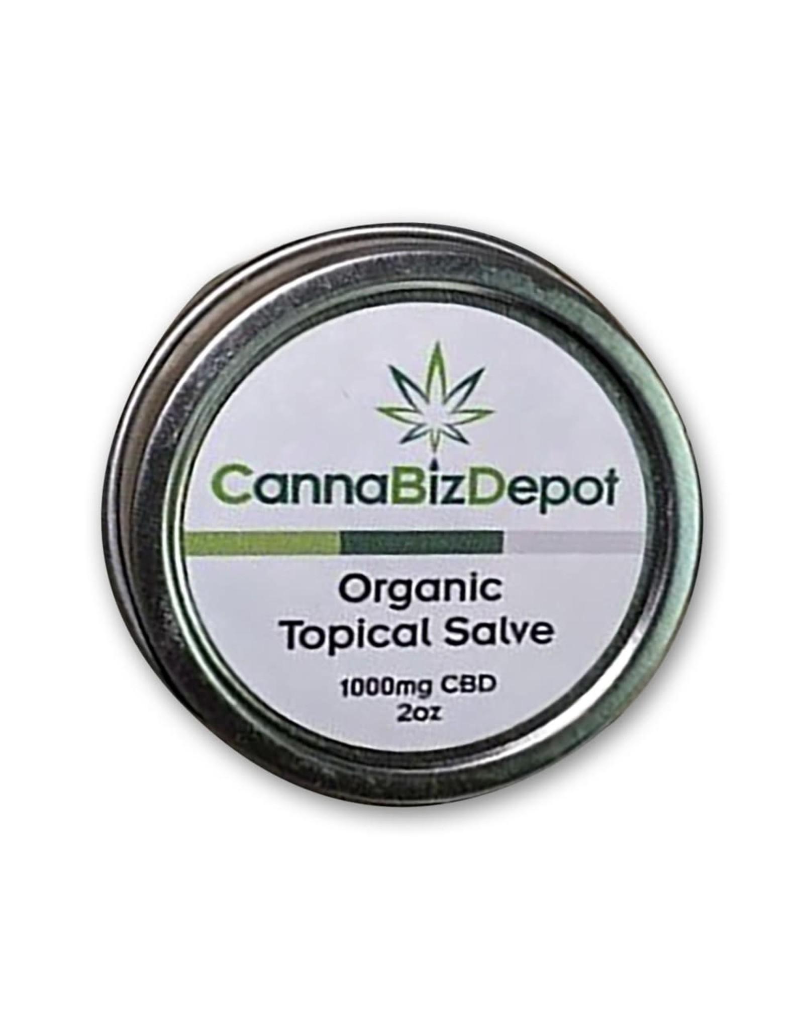 CannaBiz Depot CannaBiz Depot 1000mg 2oz Topical Salve