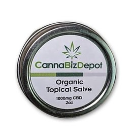 CannaBiz Depot CannaBiz Depot 1000MG 2oz Organic Topical Salve