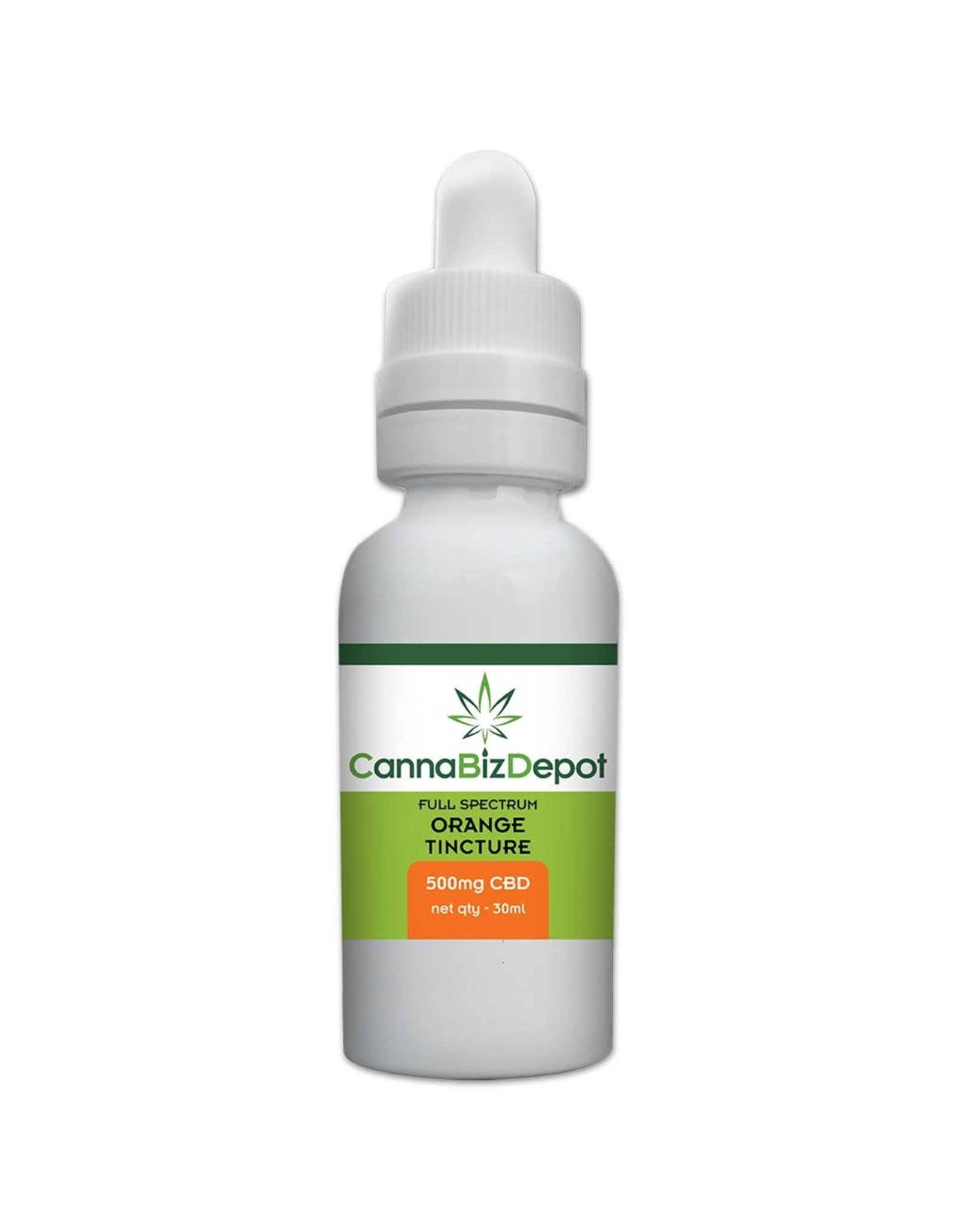 CannaBiz Depot CannaBiz Depot 500mg 30ml Full Spectrum Tincture