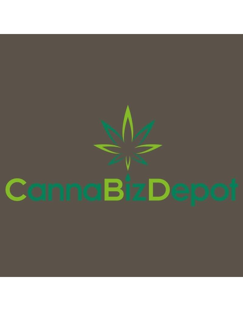 CannaBiz Depot CannaBiz Depot CannaBizDepot Logo Women's V-Neck Tshirt