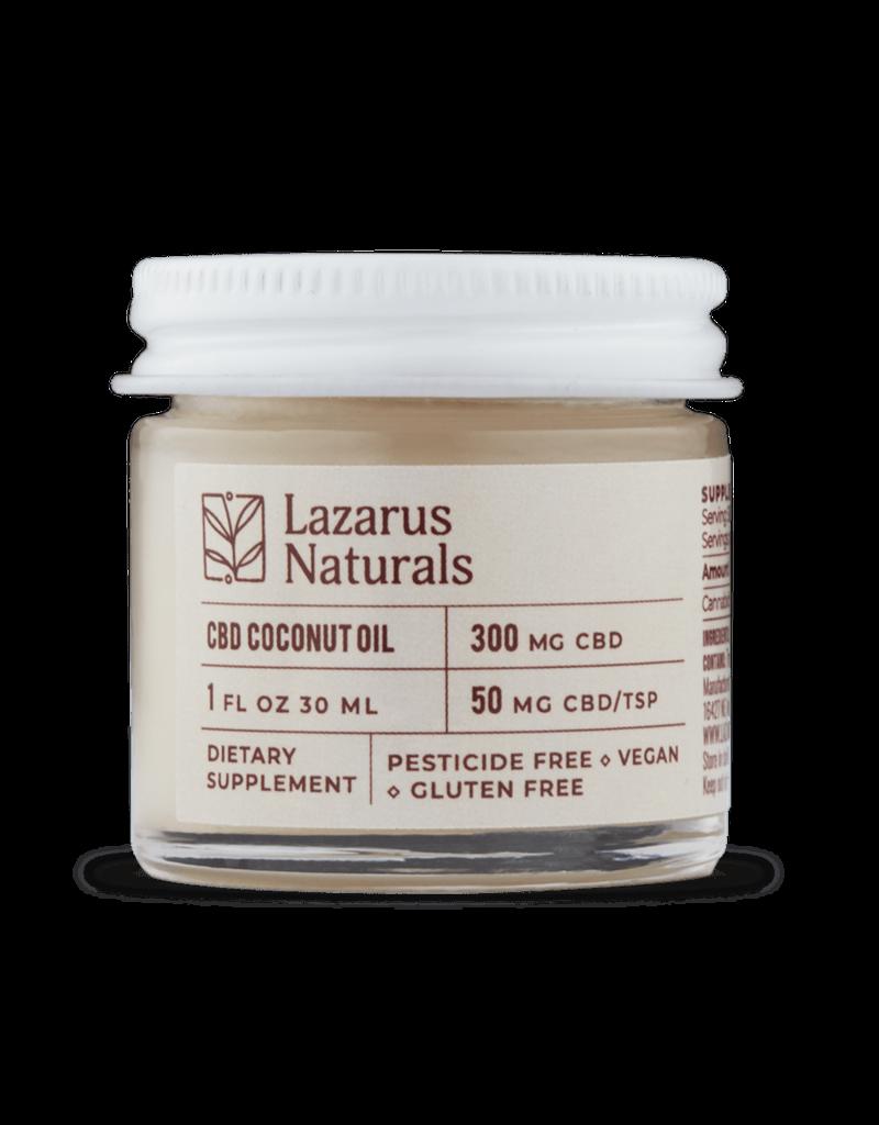 Lazarus Naturals Lazarus Naturals 300mg CBD Coconut Oil 1 fl oz 30 ml