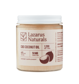 Lazarus Naturals Lazarus Naturals 1200mg CBD Coconut Oil 4 fl oz