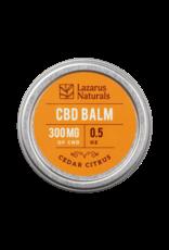 Lazarus Naturals Lazarus Naturals 300mg Cedar Citrus CBD Balm