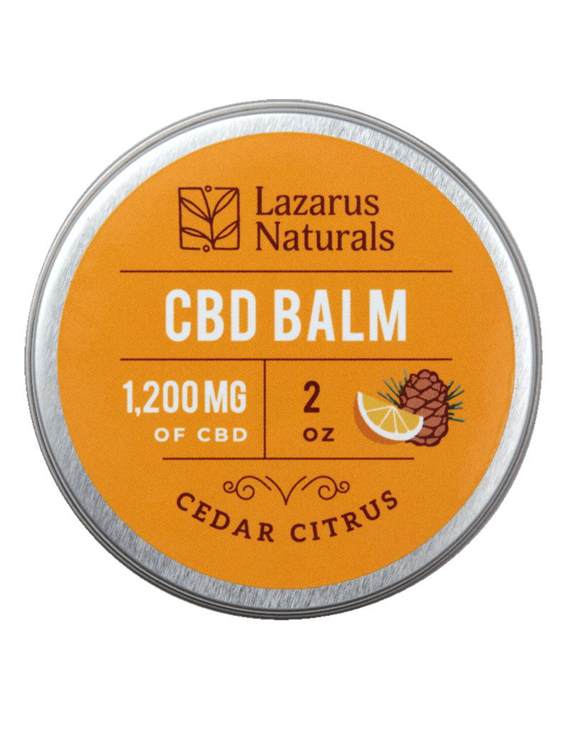 Lazarus Naturals Lazarus Naturals 1200mg Cedar Citrus CBD Balm