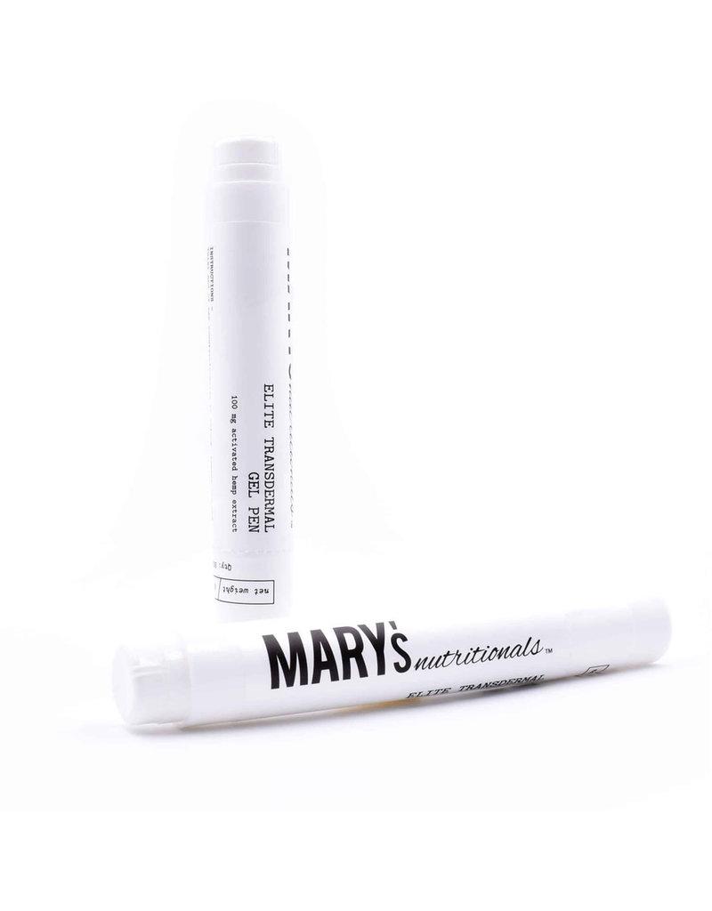 Mary's Nutritionals Mary's Nutritionals 100mg .22oz Transdermal Gel Pen