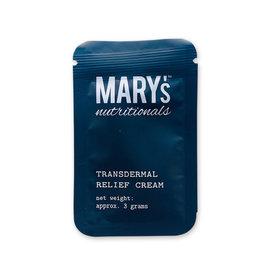 Mary's Nutritionals Mary's Nutritionals 100mg 3g Transdermal Relief Cream Sample