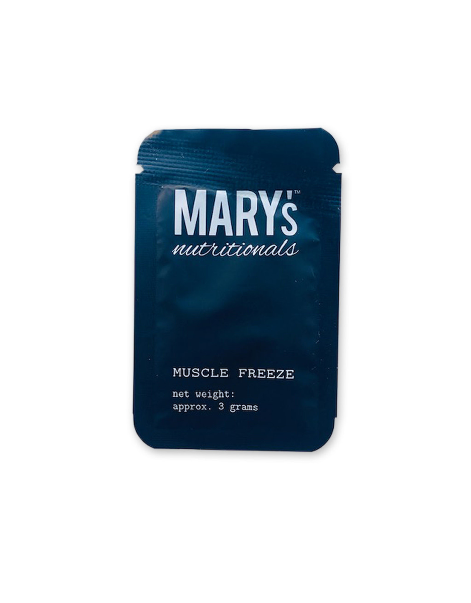 Mary's Nutritionals Mary's Nutritionals 3gm Muscle Freeze Sample