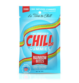 Diamond CBD Diamond Chill Plus 200mg Gummies  Rainbow Bites