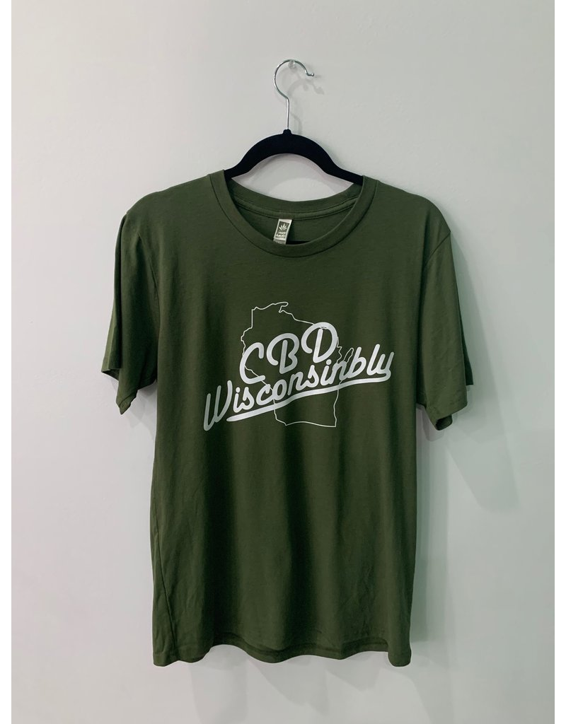 CannaBiz Depot CBDWisconsinbly Men's T-Shirt