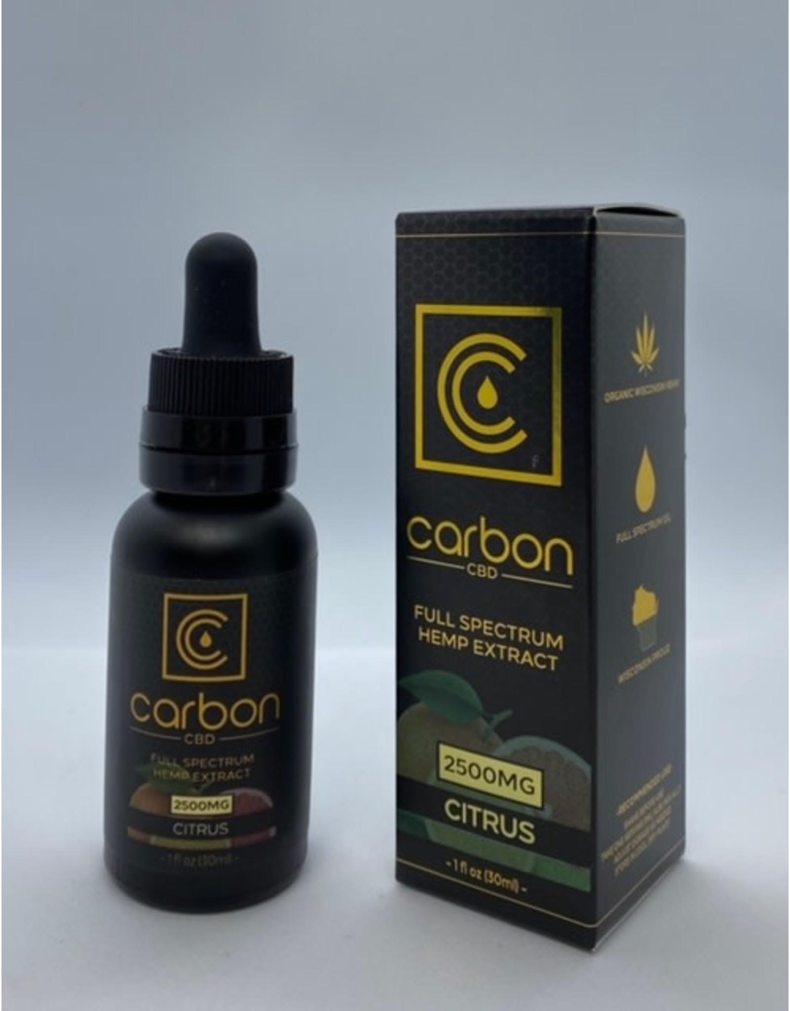 Carbon Cannabis Carbon 2500mg Full Spectrum Tincture