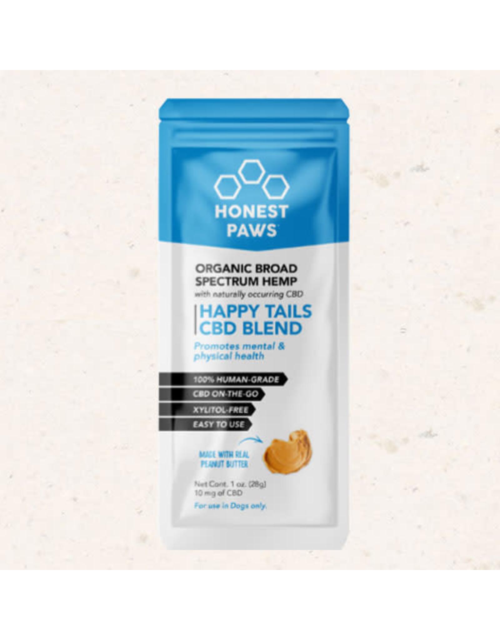 Honest Paws Honest Paws 1oz 10mg Organic Full Spectrum Pet Calming Peanut Butter