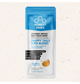Honest Paws Honest Paws 1oz 10mg Organic Broad Spectrum Pet Peanut Butter