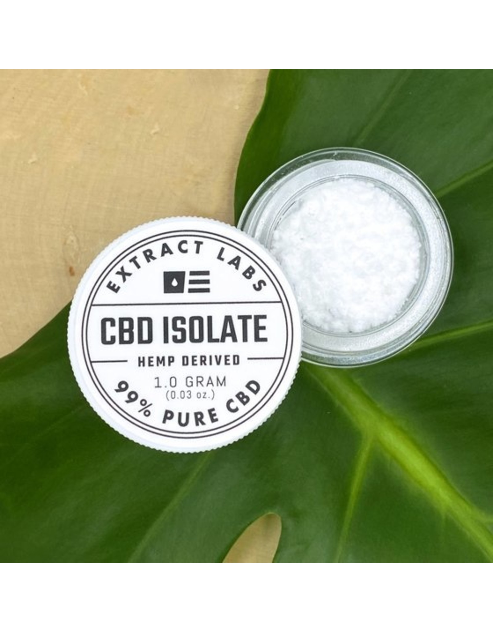 Extract Labs Extract labs 1g CBD Isolate