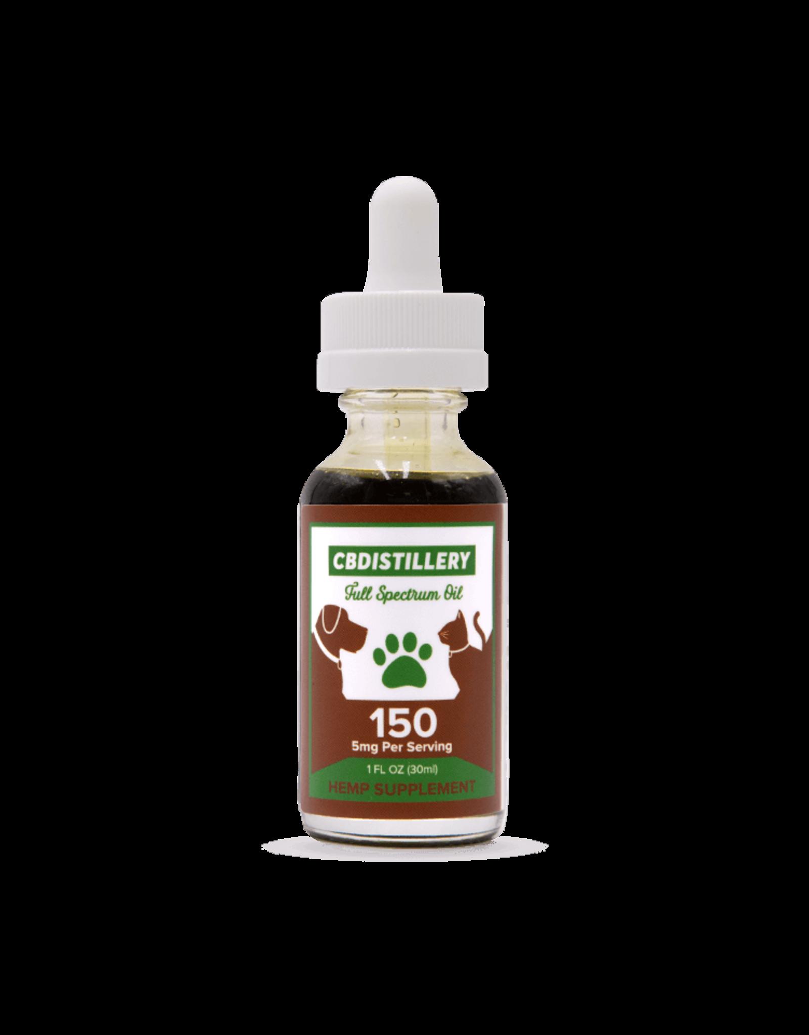 CBDistillery CBDistillery 5 mg Per Serving 30 ml Full Spectrum Pet Tincture