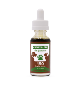 CBDistillery CBDistillery 5 mg Per Serving 30 ml Full Spectrum Pet Tincture