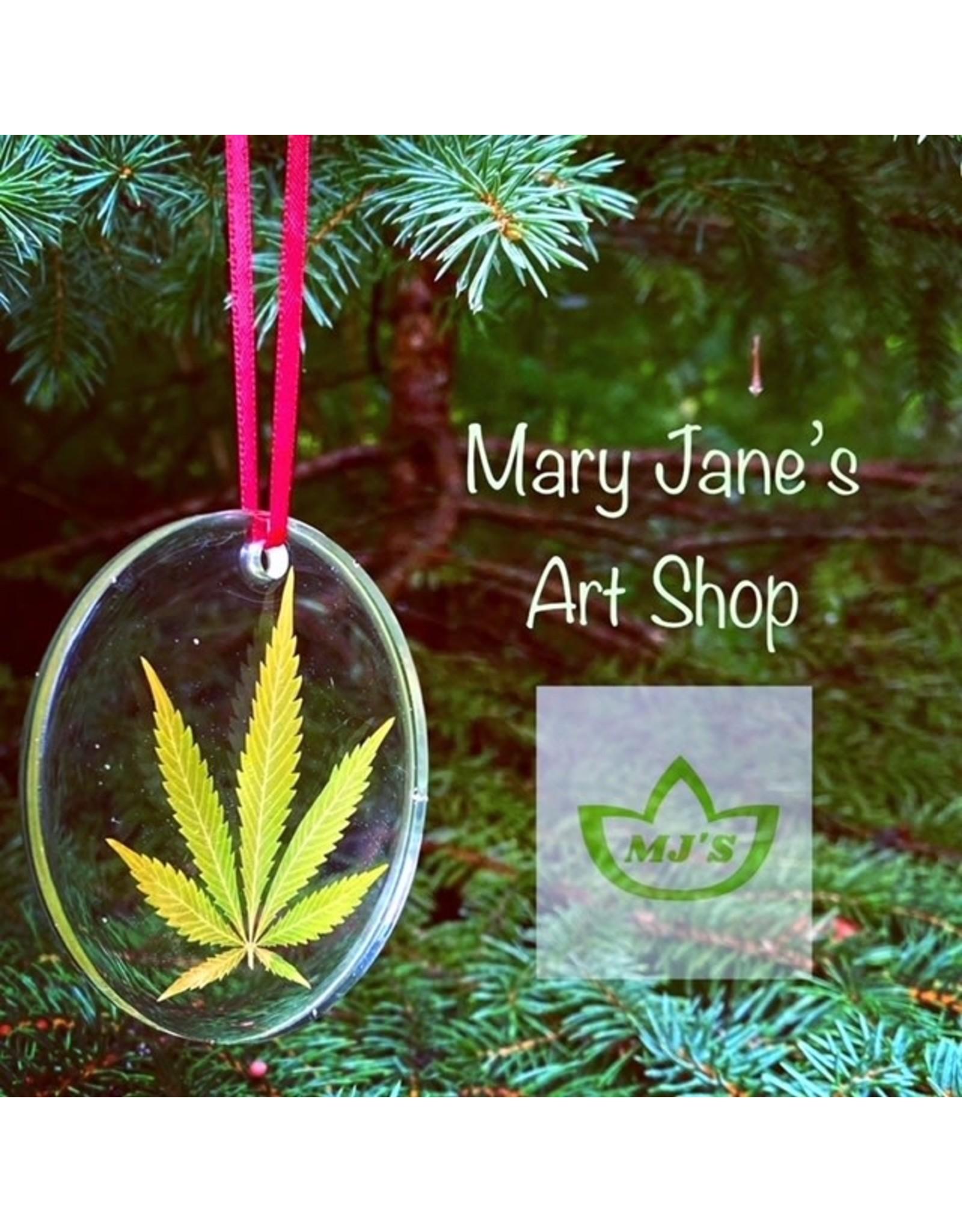 Mary Jane's Art Shop Mary Jane's  Leaf Ornament