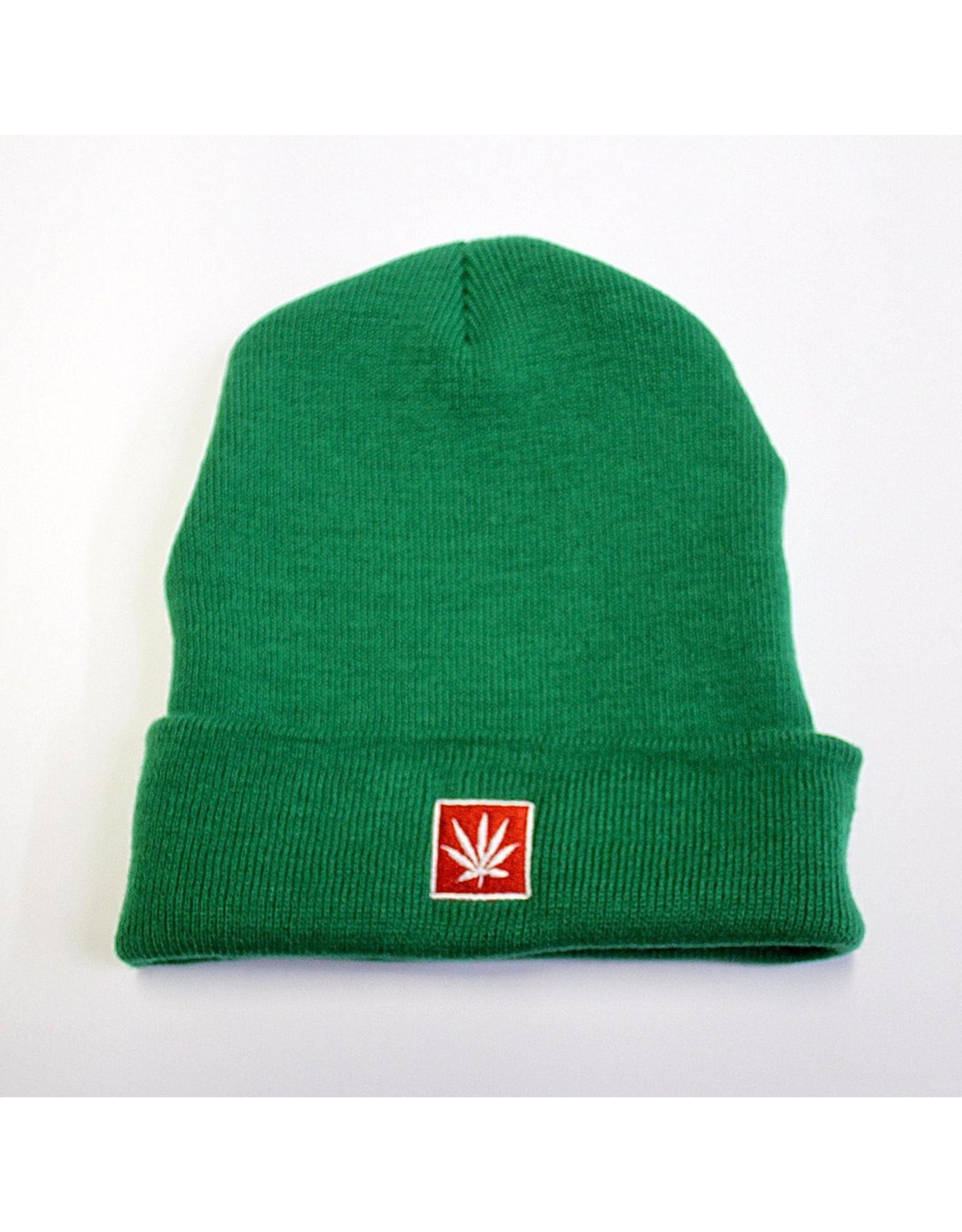 Stoner Days Stoner Days Knit Beanie Green