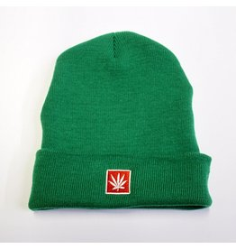 Stoner Days Stoner Days Knit Beanie Green