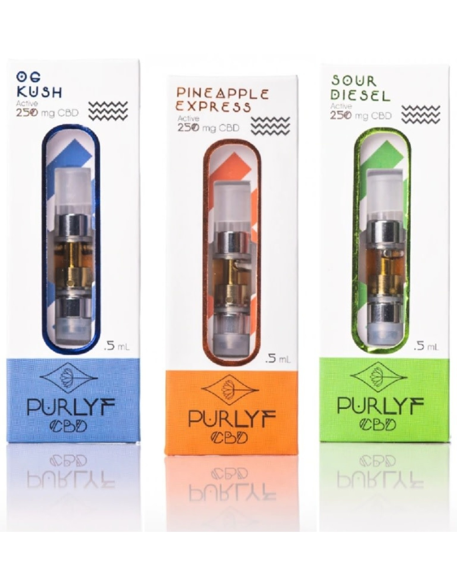 Purlyf Purlyf 250mg Full Spectrum Cartridge