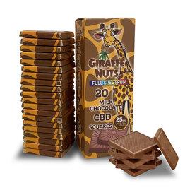 Giraffe Nuts Giraffe Nuts 25mg Milk Chocolate Square