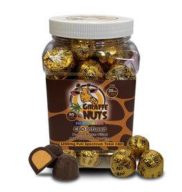 Giraffe Nuts Giraffe Nuts 25mg Milk Chocolate Peanut Butter Truffle