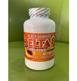 Cured Bomb Desserts Cured Bomb Delta8 600mg 30ct Gummy Peach