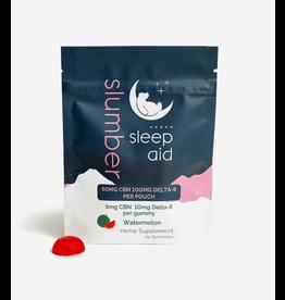 Slumber Slumber Delta8 100mg CBN 50mg Sleep Aid Watermelon