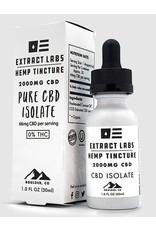 Extract Labs Extract Labs 2000mg Zero THC Pure CBD Isolate Tincture