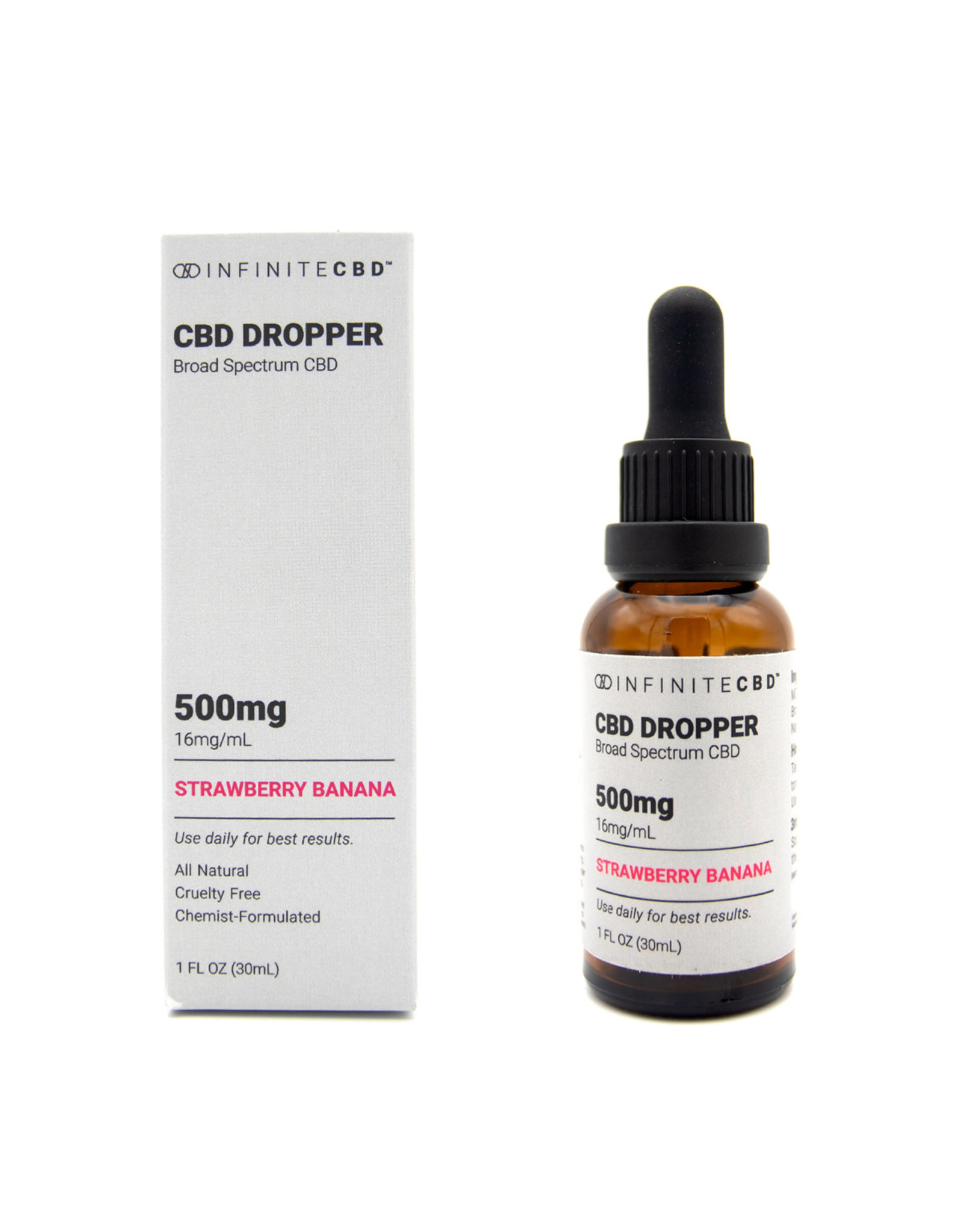 Infinite CBD Infinite CBD 500mg Broad Spectrum Dropper Tincture