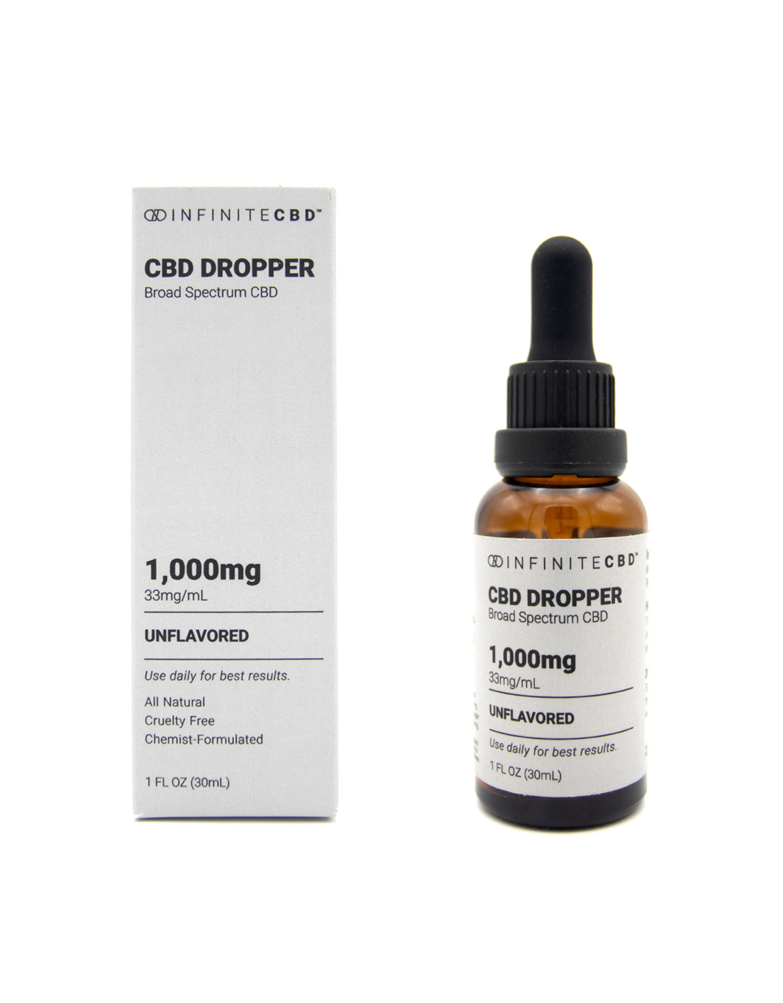 Infinite CBD Infinite CBD 1000mg Broad Spectrum Dropper Tincture