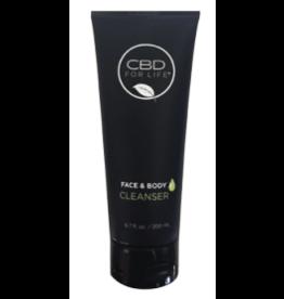 CBD For Life CBD For Life Pure CBD Face & Body Cleanser