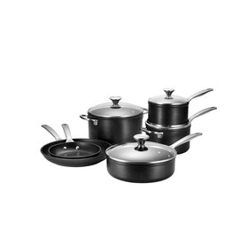 Le Creuset Le Creuset 10pc Toughened Non-Stick Pot Set