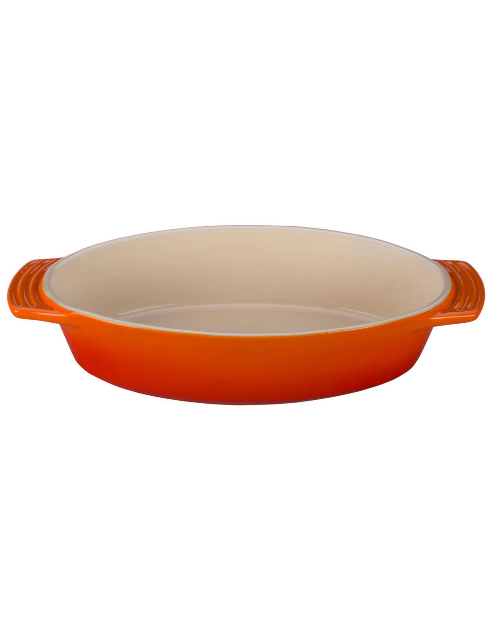 Le Creuset Le Creuset 3.5qt Oval Signature Dish Flame