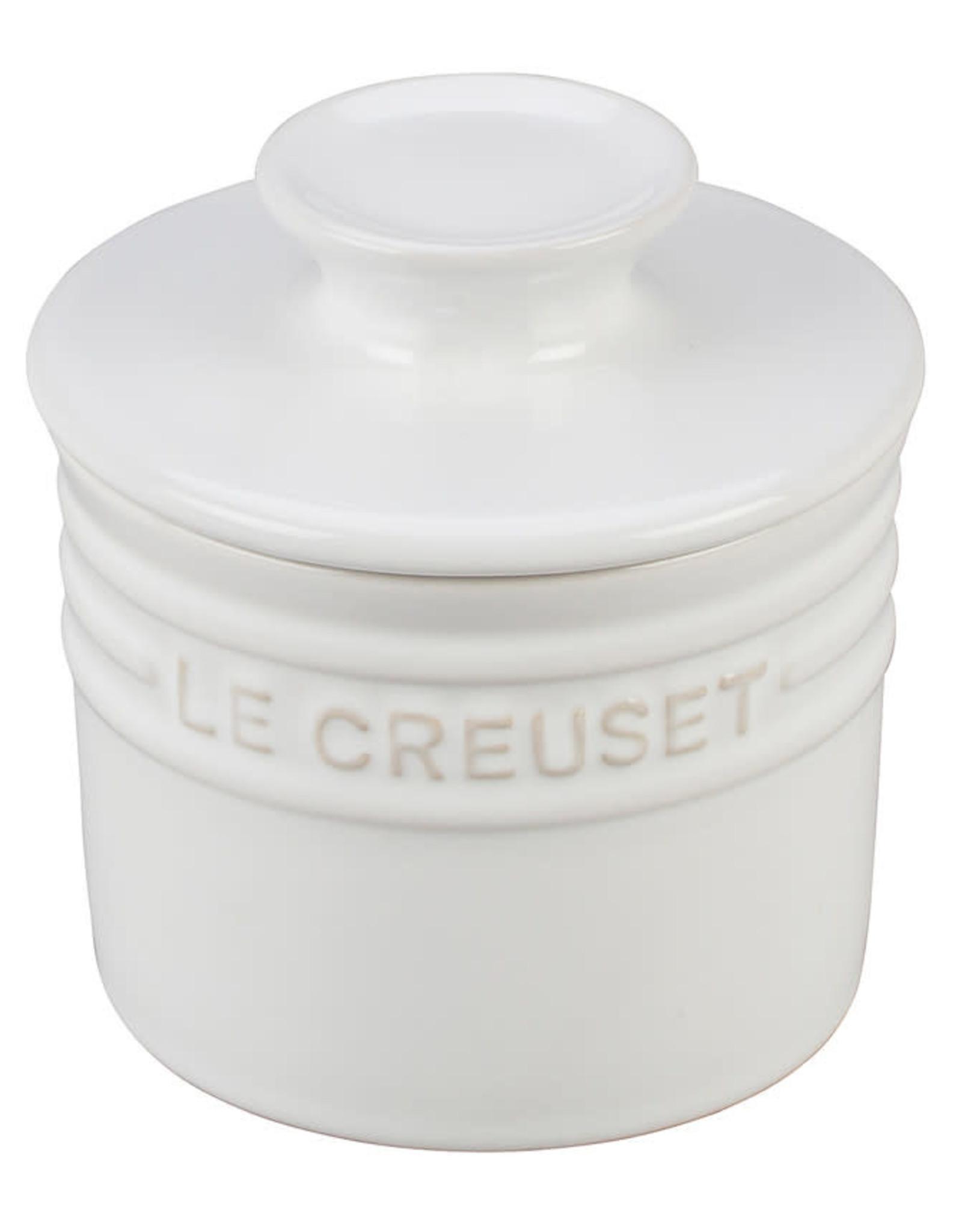 Le Creuset Le Creuset Heritage Butter Crock White