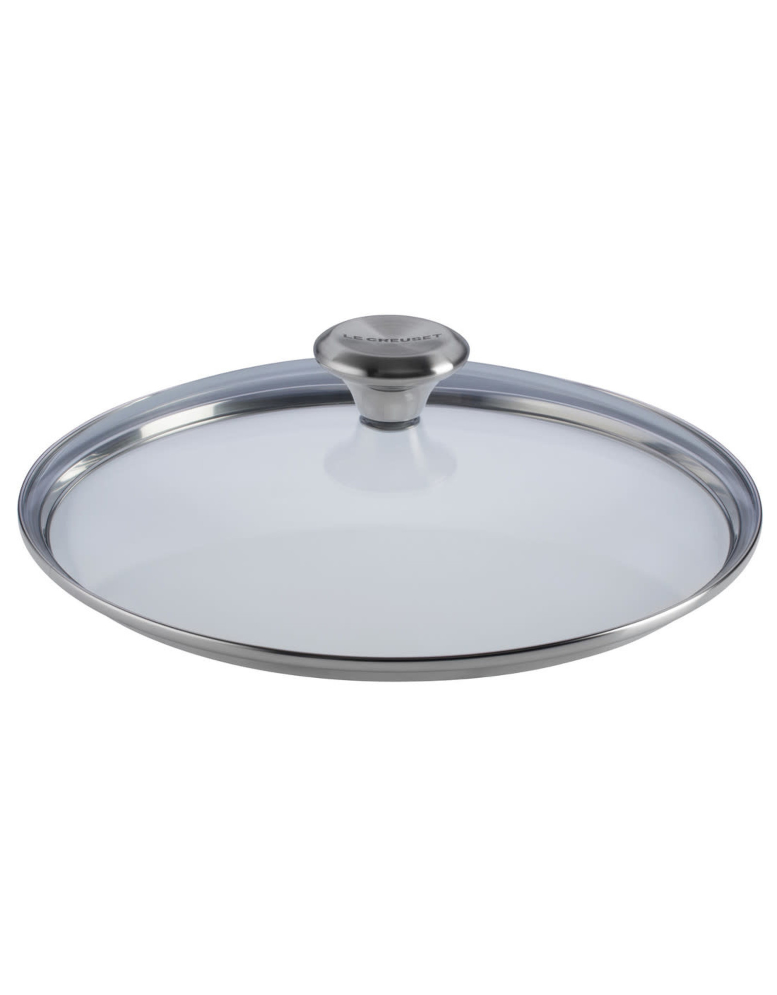 """Le Creuset Le Creuset 11"""" Glass Lid w/ Stainless Steel Knob (fits TNS & SS)"""