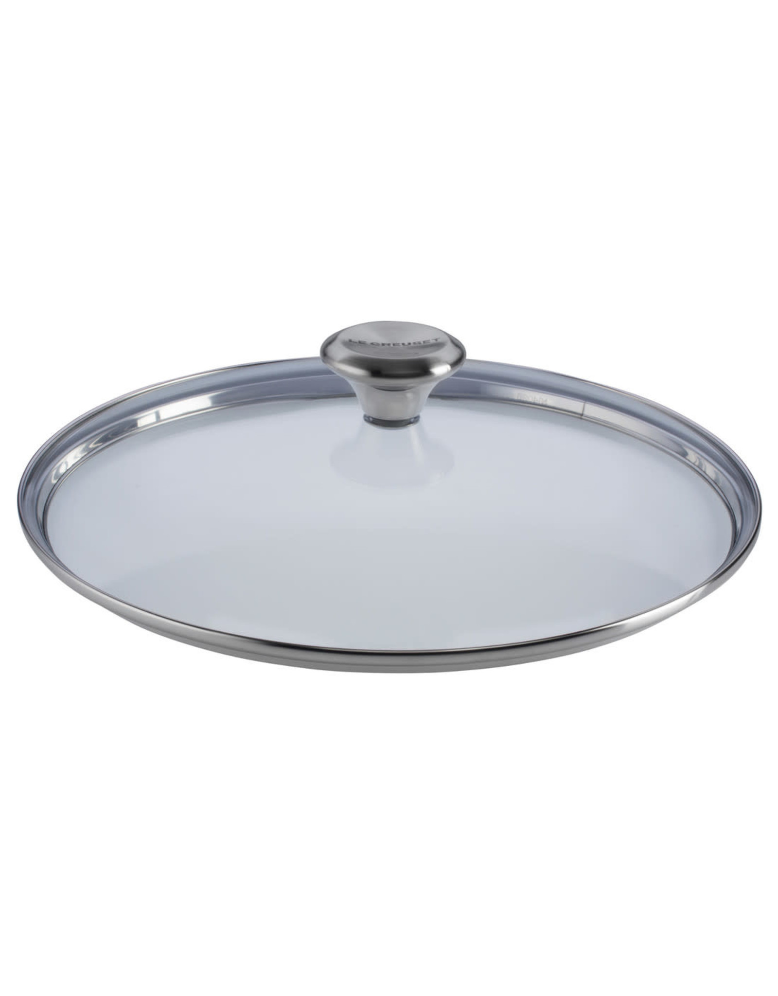 """Le Creuset LE CREUSET-11"""" Glass Lid with Stainless Steel Knob (fits TNS & SS)"""